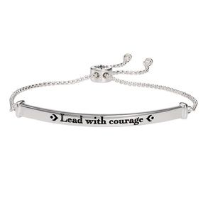"❄️ Disney Frozen 2 ""Lead With Courage"" Bracelet"